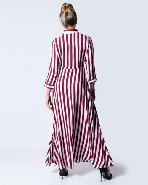 Vestito lungo Yas Savanna Long Shirt Dress D2D Rosso – 40248