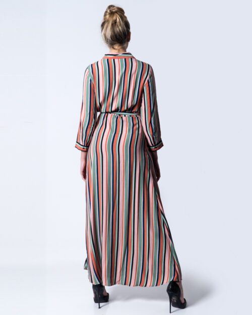 Vestito lungo Yas LINHASSA 3/4 ANKLE DRESS FT S Verde – 44117