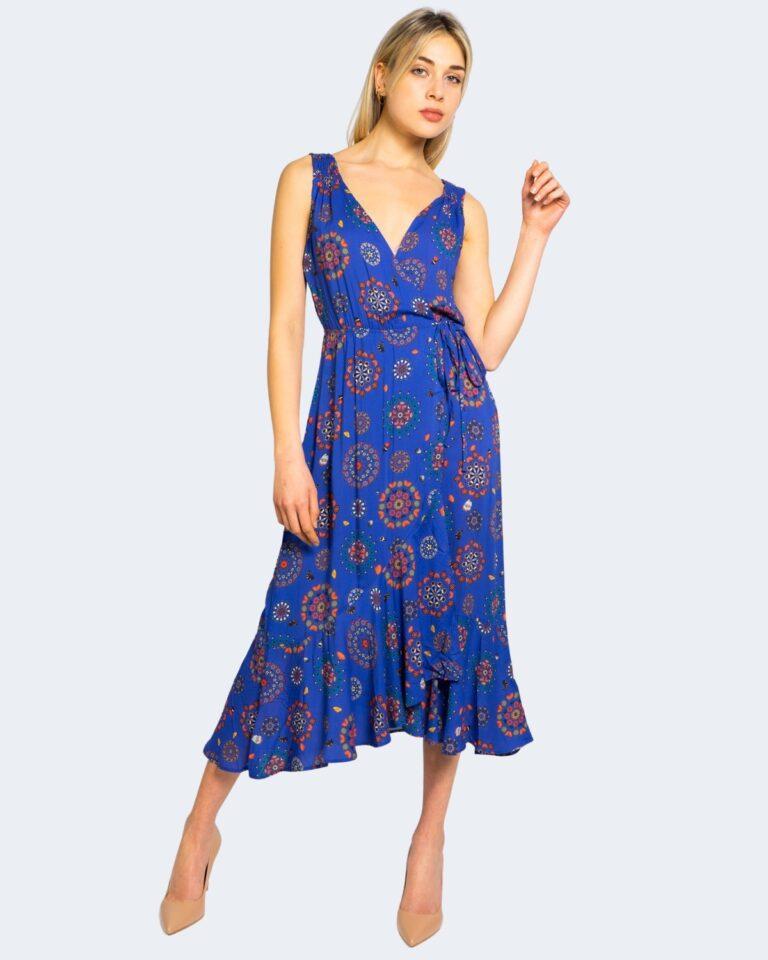Vestito midi Desigual SANTORINI Azzurro - Foto 1