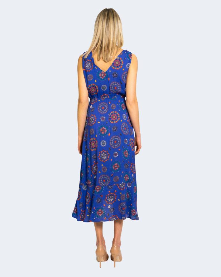 Vestito midi Desigual SANTORINI Azzurro - Foto 2