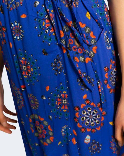 Vestito midi Desigual SANTORINI Azzurro - Foto 3