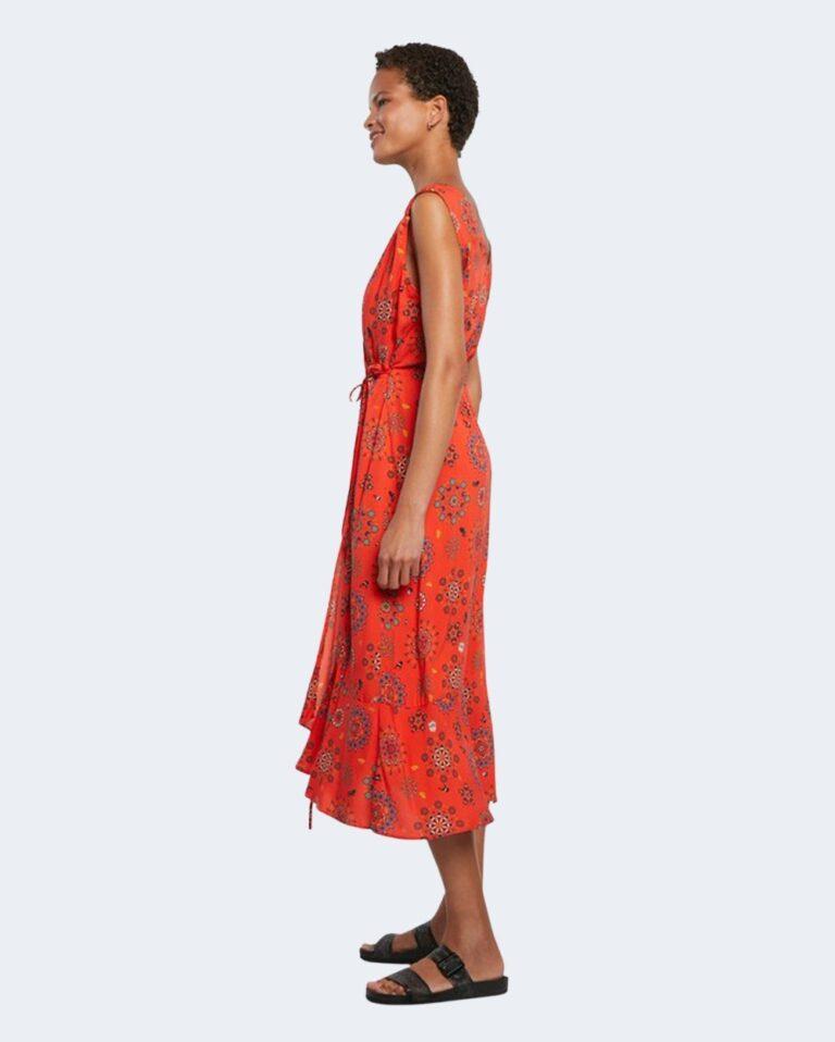 Vestito midi Desigual SANTORINI Rosso - Foto 1