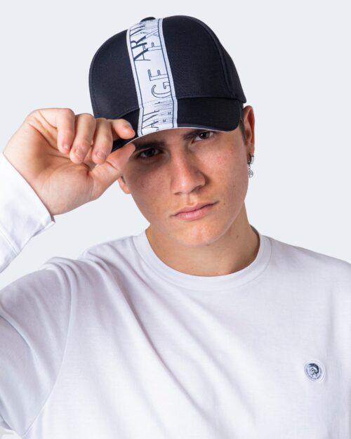 Cappello con visiera Armani Exchange Banda Logo Blu – 59921