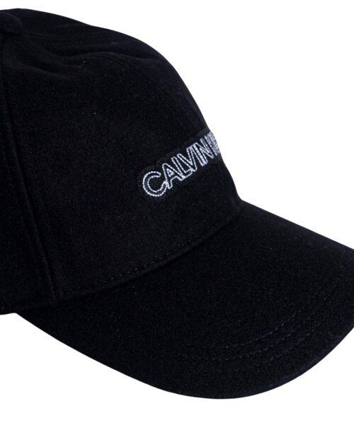 Cappello con visiera Calvin Klein TINTA UNITA LOGO Nero – 59154