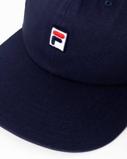 Cappello con visiera Fila Unisex Dad Cap F-box Blu – 36362