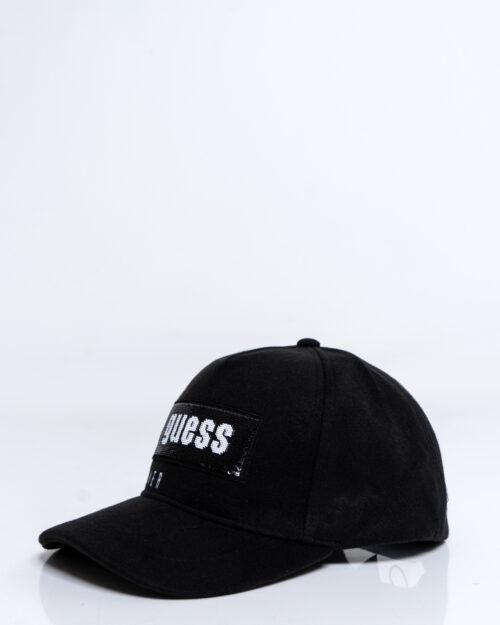 Cappello con visiera Guess HENNIE BASEBALL CAP Nero – 53979