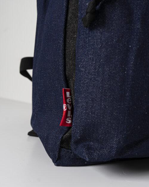 Zaino Levi's® L PACK UNISEX Blue Denim Scuro - Foto 3