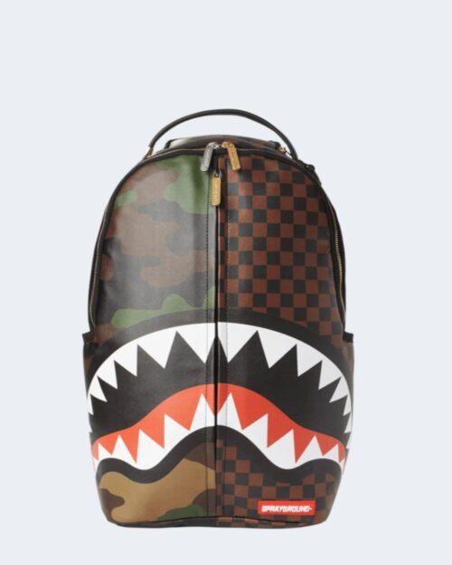 Zaino Sprayground CHECKS CAMOFLAGUE BACKPACK Marrone – 61844