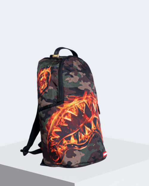 Zaino Sprayground FIRE SHARK BACKPACK Mimetico – 54622