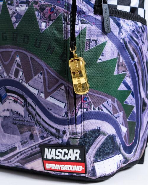 Zaino Sprayground NASCAR TRACK DAY Viola - Foto 4