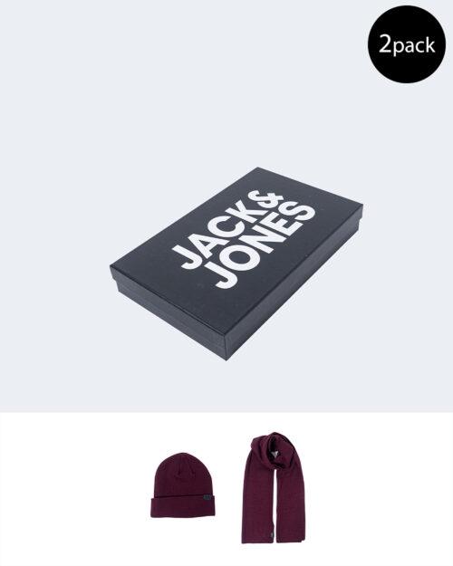 Berretto Jack Jones Jolly Knit Giftbox Bordeaux – 60124