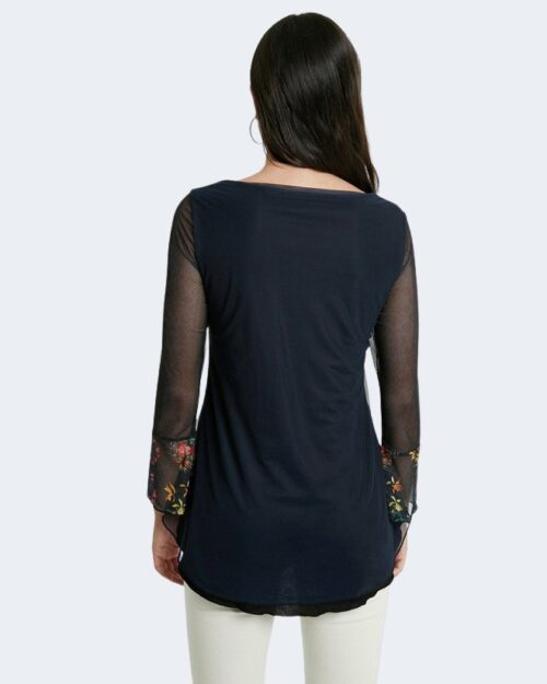 Bluse manica lunga Desigual CARRIE Blu – 65483