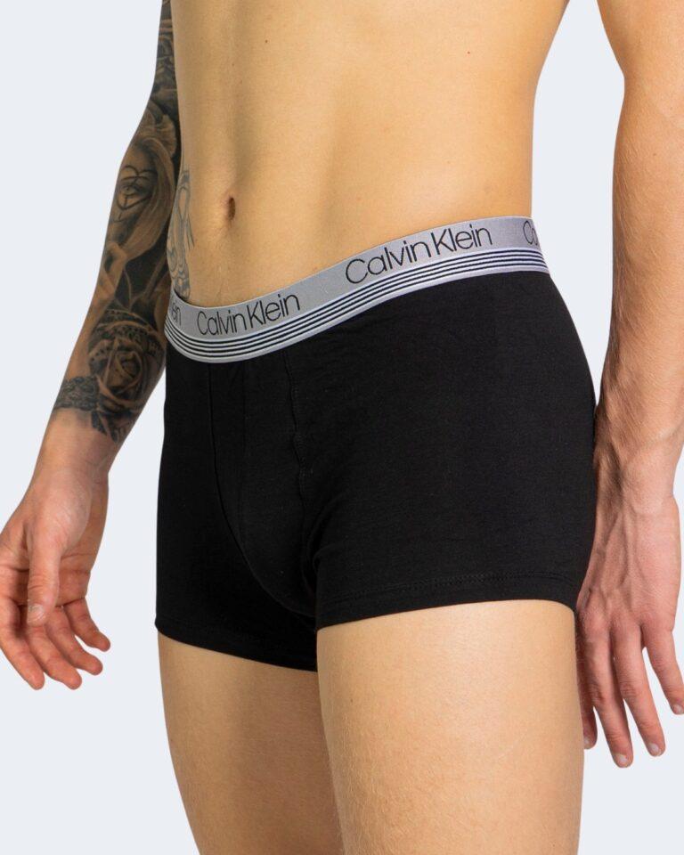 Boxer Calvin Klein Underwear TRUNK 3PK 000NB2336A Nero - Foto 4