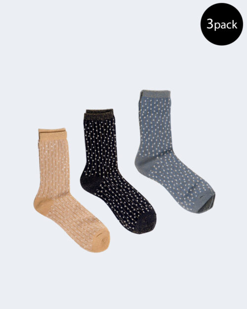 Calzini Only NUNNI DOTTED SOCK 3- PACK Rosa Cipria – 63376