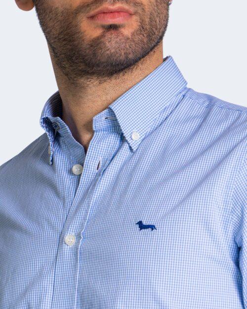 Camicia manica lunga Harmont&blaine – Celeste – 70324