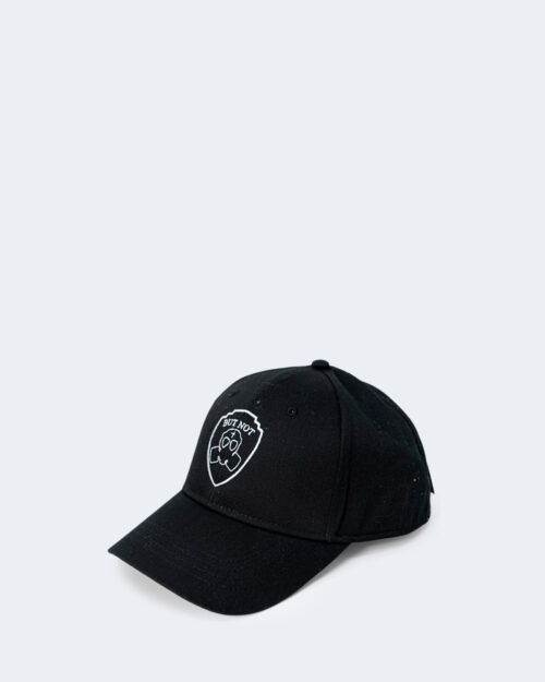 Cappello con visiera But Not LOGO ESAGONALE Nero – 67082