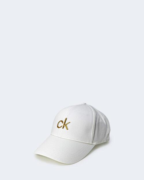 Cappello con visiera Calvin Klein BB Bianco - Foto 2