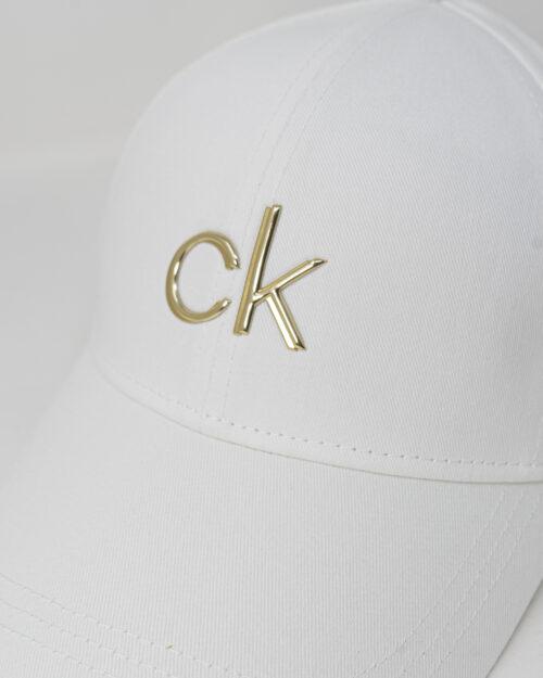 Cappello con visiera Calvin Klein BB Bianco - Foto 3