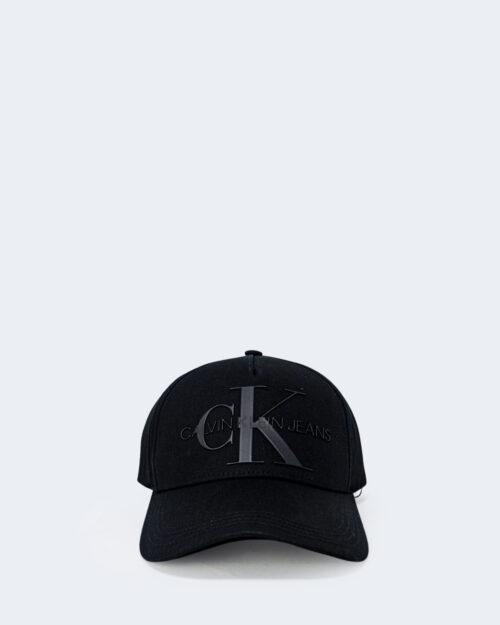 Cappello con visiera Calvin Klein MONOGRAM Nero - Foto 1