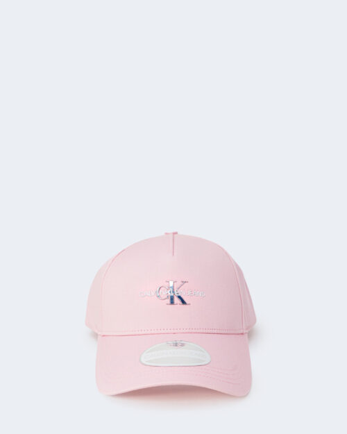 Cappello con visiera Calvin Klein MONO HARDWARE Rosa – 64799