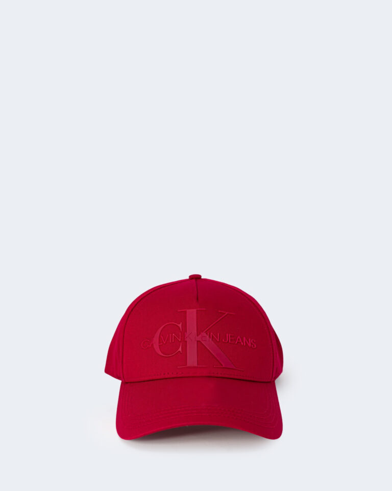 Cappello con visiera Calvin Klein MONOGRAM Rosso - Foto 1