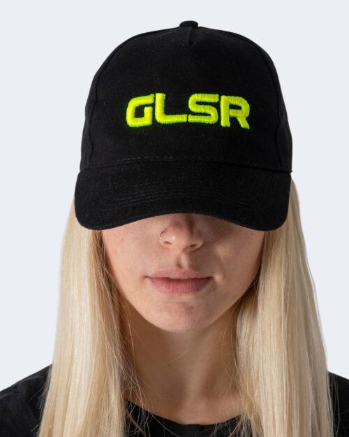 Cappello con visiera Glsr TINTA UNITA CON LOGO Giallo fluo – 71122