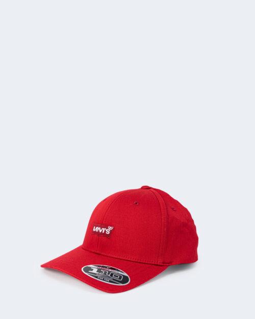 Cappello con visiera Levi's® MID BATWING FLEXFIT Rosso – 67549