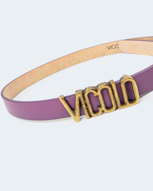 Cinta Vicolo FIBBIA LOGO Viola – 70853