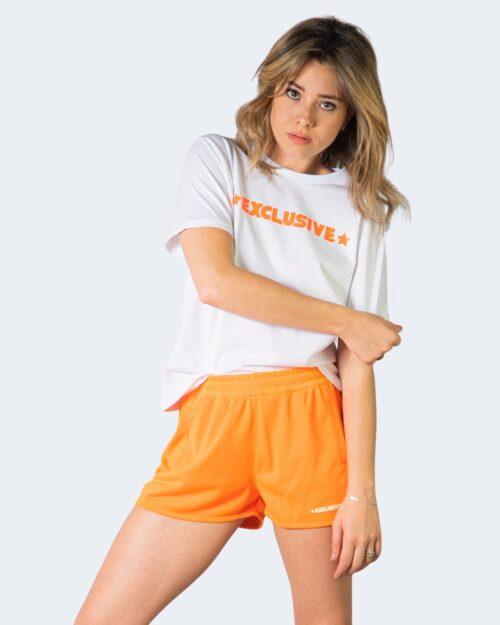 Completo corto tuta Exclusive Paris LOGO COLOR Arancione – 71128