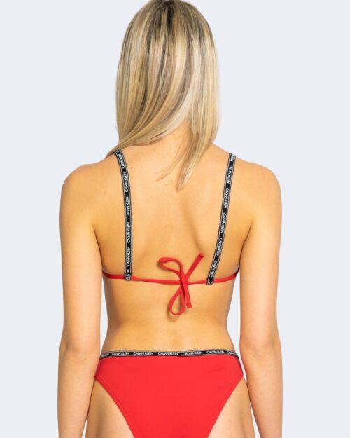 Costume da bagno Calvin Klein CUT OUT ONE PIECE Rosso – 64694