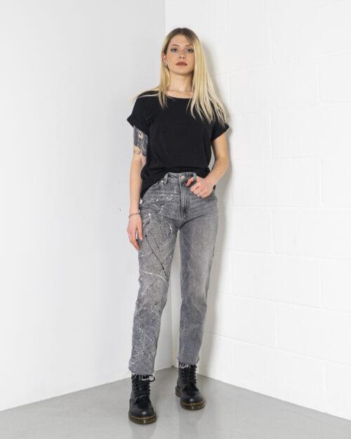 Jeans mom Gocciart EMILY GRIGIO SCHIZZI Grigio – 71207