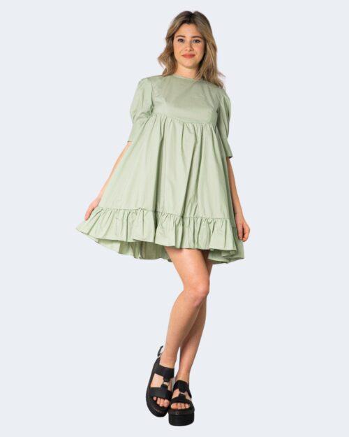 Vestito corto I Am – Verde – 71143