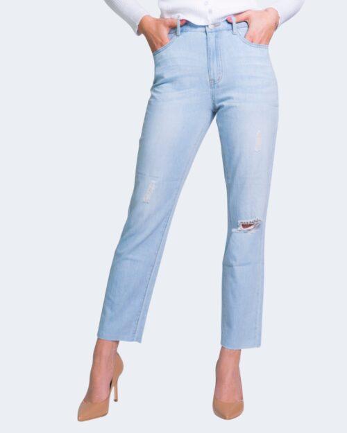 Jeans mom Vila Clothes STRAY Denim chiaro – 62951