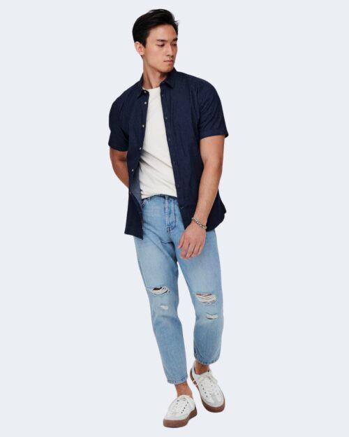Jeans Only & Sons AVI Blue Denim – 63284