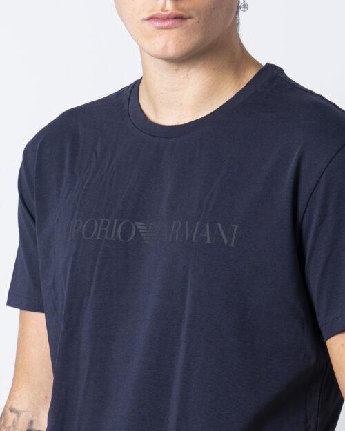 T-shirt intimo Emporio Armani CREW NECK Blu - Foto 3