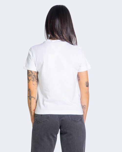 T-shirt Calvin Klein Jeans SHINE BADGE Bianco - Foto 3