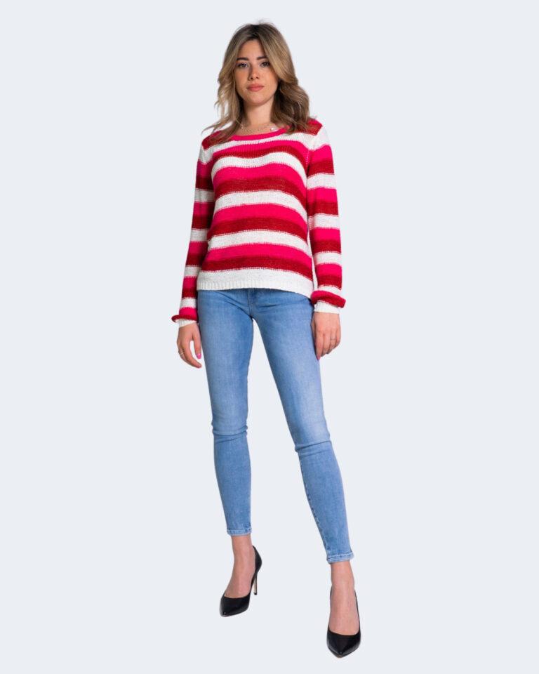 Maglione Jacqueline de Yong MORE Rosso - Foto 2