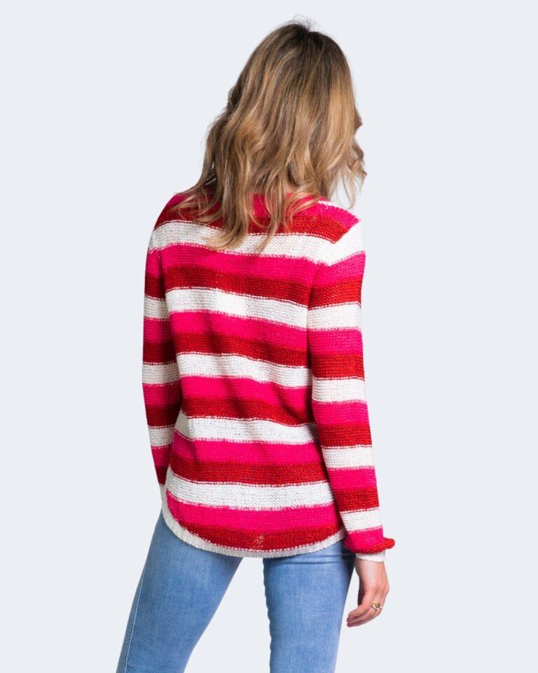 Maglione Jacqueline de Yong MORE Rosso - Foto 4