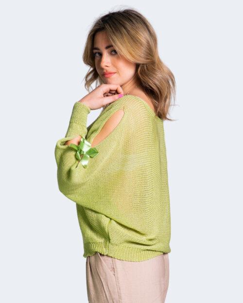 Maglione One.0 FIOCCHI MANICA Verde – 68038