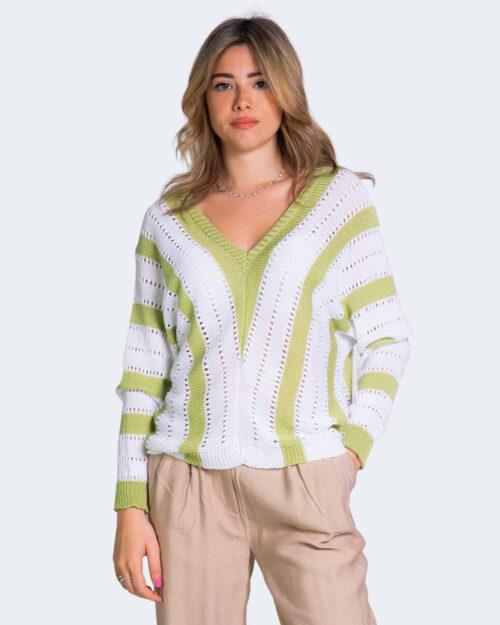 Maglione One.0 SCOLLO Verde – 68430