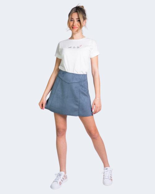 Minigonna Only LINUS Blu – 63371