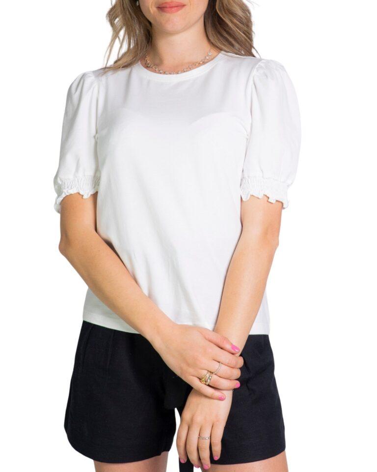 T-shirt Only DREA Panna - Foto 5