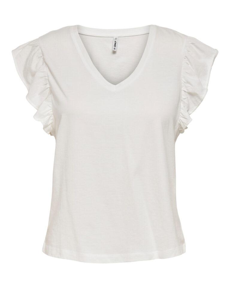 T-shirt Only LUCILLA Panna - Foto 5