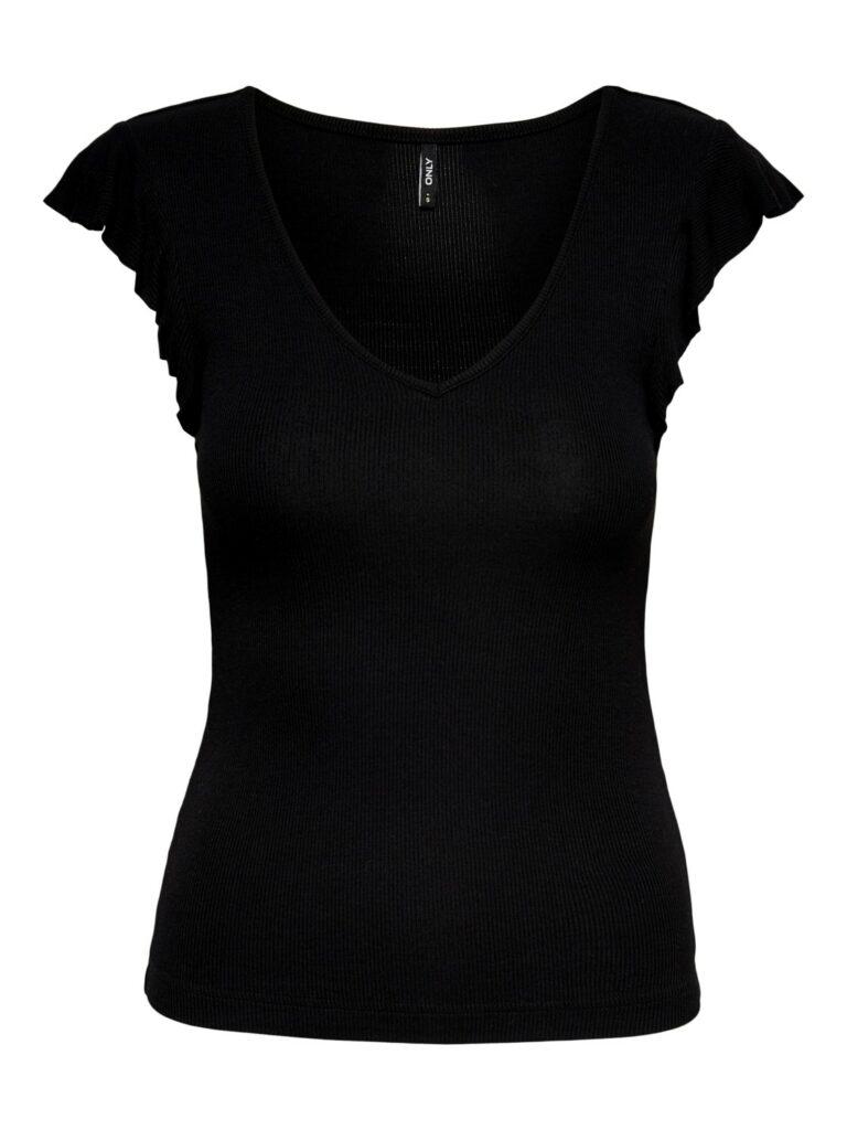 T-shirt Only BELIA Nero - Foto 5