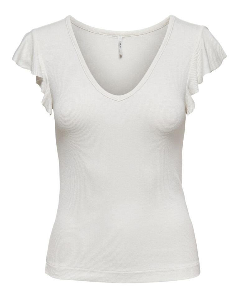 T-shirt Only BELIA Panna - Foto 5