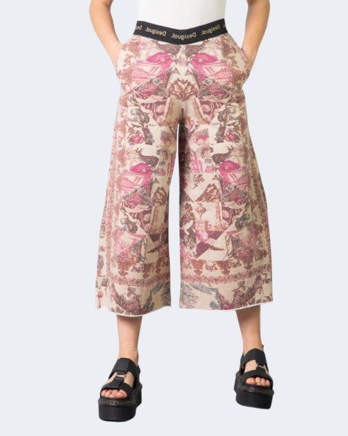 Pantaloni a palazzo Desigual ARTEMISA Beige – 61703