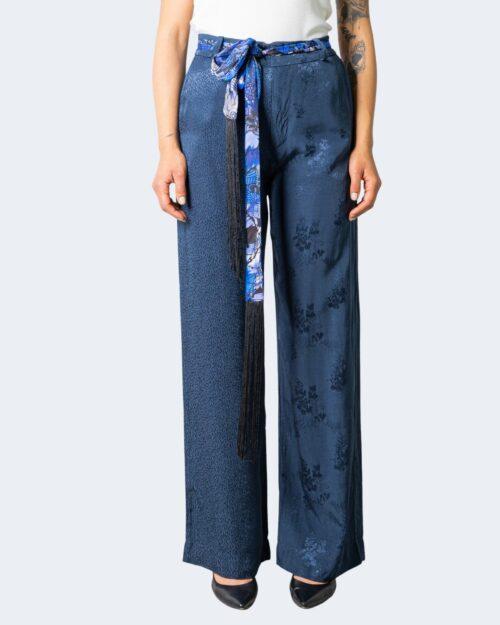 Pantaloni a palazzo Desigual HEIRA Blu - Foto 1