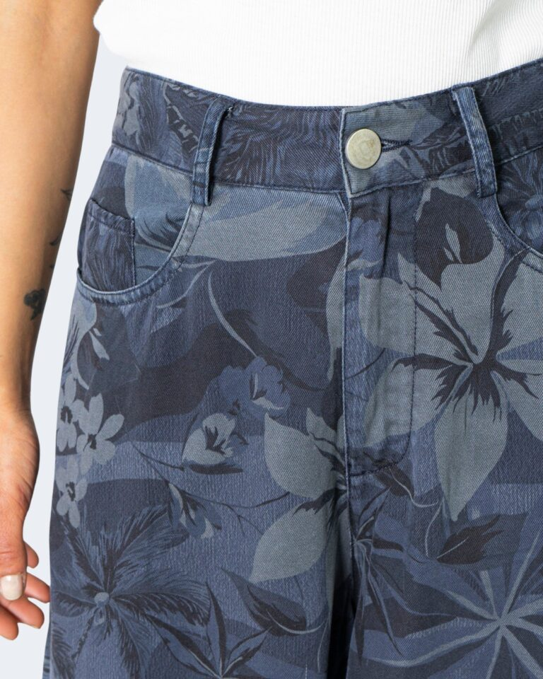 Pantaloni a palazzo Desigual VIO Blu - Foto 4