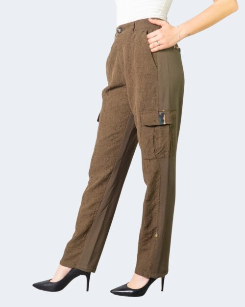 Pantaloni a palazzo Desigual ADRIANA Verde Oliva – 61724