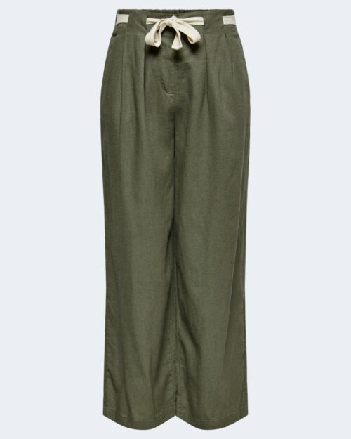 Pantaloni a palazzo Jacqueline De Yong SAY Verde Oliva – 63456